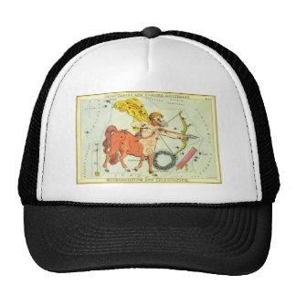 Vintage Zodiac Astrology Sagittarius Constellation Trucker Hat