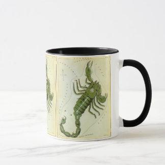 Vintage Zodiac, Astrology Scorpio Constellation Mug