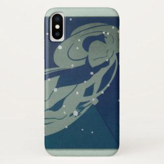 Vintage Zodiac Astrology, Virgo Constellation iPhone X Case