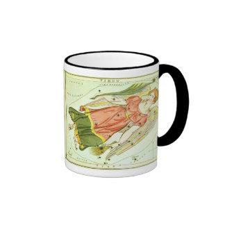 Vintage Zodiac Astrology Virgo Constellation Coffee Mugs