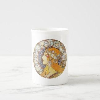 Vintage Zodiac Porcelain Mugs