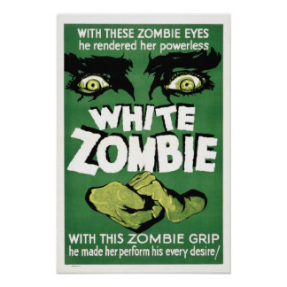 Vintage Zombie Posters
