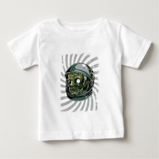 vintage zombie scary face baby T-Shirt