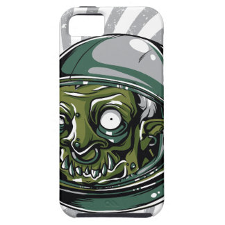 vintage zombie scary face iPhone SE/5/5s case