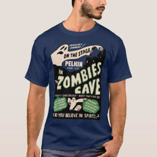 Vintage Zombie's Cave Spook Show T-Shirt