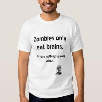 Vintage Zombies Eat Brains Shirt