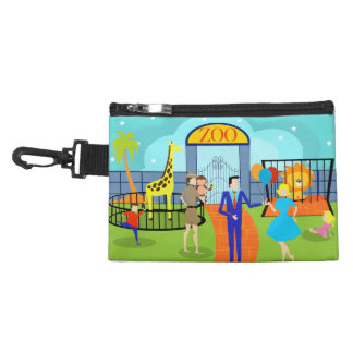 Vintage Zoo Clip On Accessory Bag