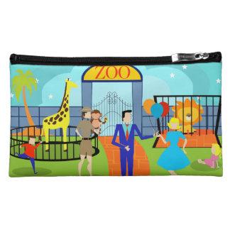 Vintage Zoo Cosmetic Bag