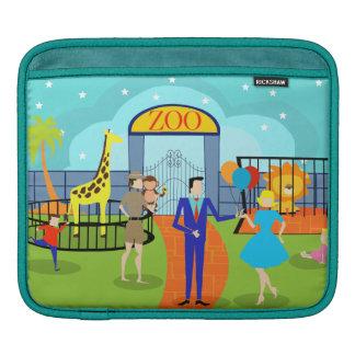 Vintage Zoo iPad Sleeve
