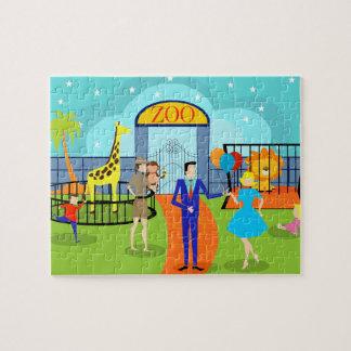 Vintage Zoo Puzzle