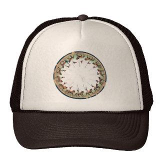 Vintage Zoopraxiscope - Horseback sommersault Trucker Hat