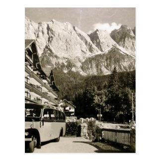 vintage zugspitze postcard