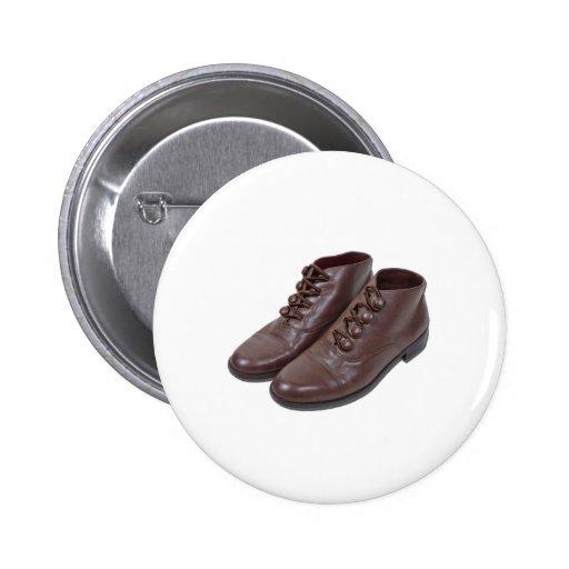 VintageButtonShoes122111 2 Inch Round Button