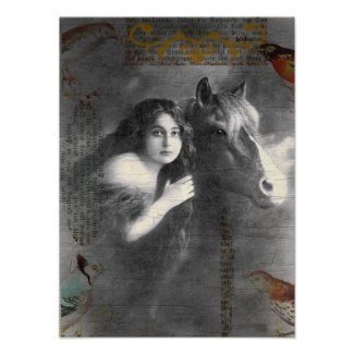 vintagecollage print