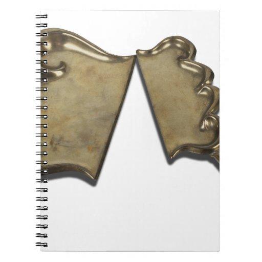 VintageDustPan110312 copy.png Spiral Notebook