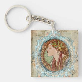 VintageLady Keychain