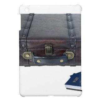 VintageLuggagePassports122814 Case For The iPad Mini