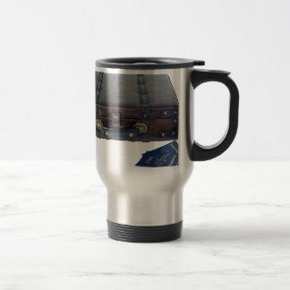 VintageLuggagePassports122814 Travel Mug