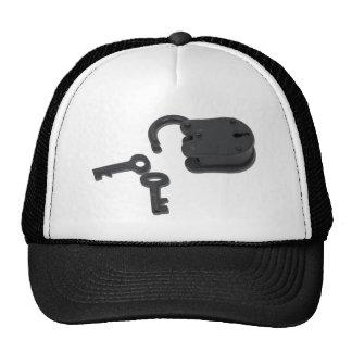 VintagePadlock121210 Trucker Hat