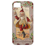 Vintages Weihnachten S de los lustiges de los iPhone 5 Fundas