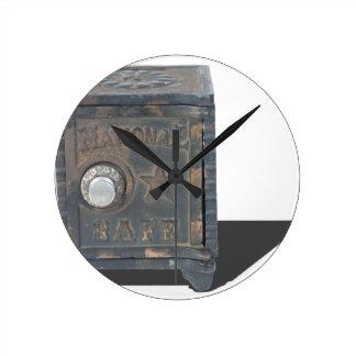 VintageSafeMoneyStorage082414 copy Round Clock