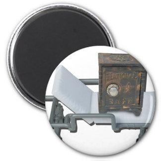 VintageSafeOnGurney092715 Magnet