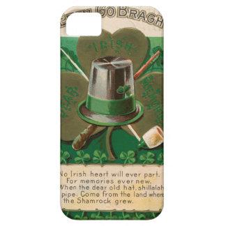 VintageSaint Patrick's day shamrock erin go bragh iPhone SE/5/5s Case