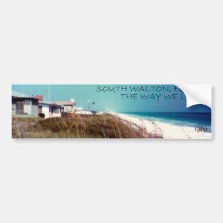 VintageSOUTH WALTON, FLORIDA Bumper Sticker