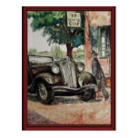 Vintagetravelling en coche 1910 postales