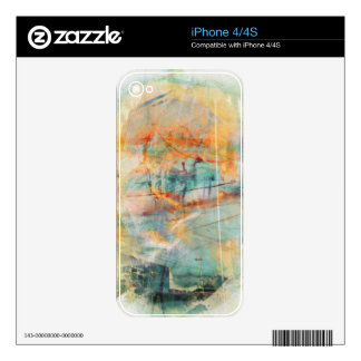 VintageTwinpeaks ' The Lost City SanFrancisco iPhone 4S Skin