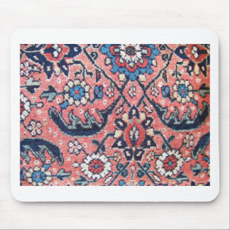 Vintal Floral By Quick Brown Fox Mouse Pad