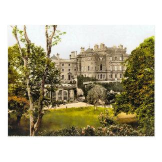 Vintgae Culzean Castle Scotland Postcard