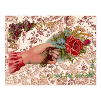 Vintge Bouquet Postcard