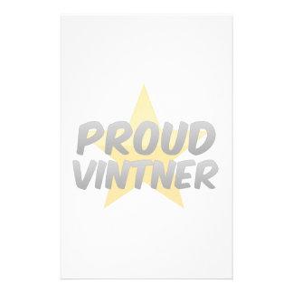 Vintner orgulloso papeleria