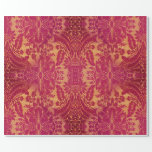 Vinya Duchess Vintage Baroque glossy Wrapping Paper