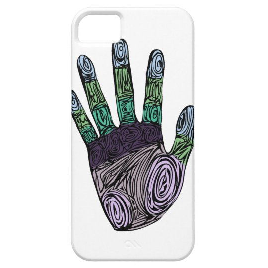 Vinyard Hand iPhone SE/5/5s Case