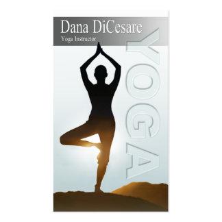 Vinyasa de Dana y instructor de la yoga del poder Tarjetas De Visita