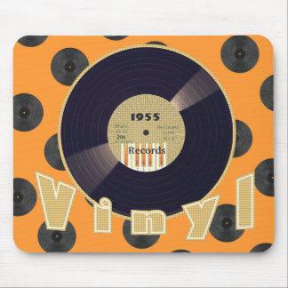 VINYL 33 RPM Record 1955 Label 3 Mouse Pad
