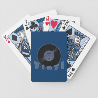 VINYL 33 Rpm Record Label 1955 Bicycle Playing Cards