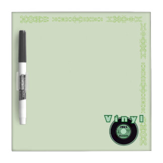 Vinyl 45 Record 1965, Green 2 Dry Erase Board