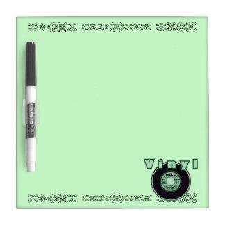 Vinyl 45 Record 1965, Green Dry Erase Boards