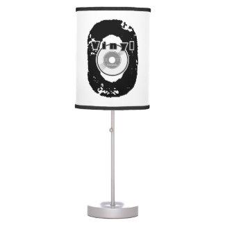Vinyl records table pendant lamps zazzle for Lamp light records