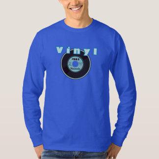VINYL 45 RPM Record 1965 Label Light Blue T-Shirt