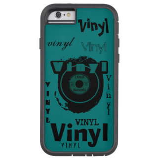 VINYL 45 RPM Record 1965 Teal Tough Xtreme iPhone 6 Case