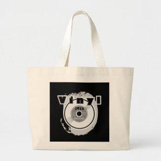 VINYL 45 RPM Record 1973 Large Tote Bag