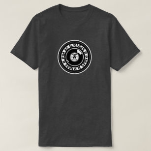 Lp record gifts on zazzle vinyl 45 rpm record black white t shirt m4hsunfo