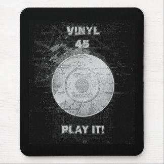 VINYL 45 RPM Record Mousepads