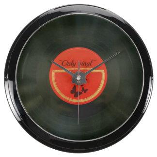 Vinyl Aquavista Clock