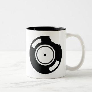 Vinyl Bite Two-Tone Coffee Mug