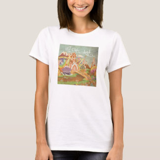 Vinyl Candy Land Album Cover T-Shirt